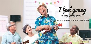 Cover of document with a laughing man in a bright shirt playing a ukulele