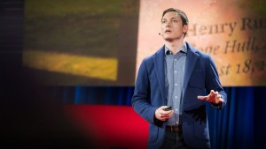 Michael Murphy doing his Ted talk
