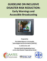Front cover of the guideline