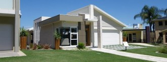 A modern single storey home.
