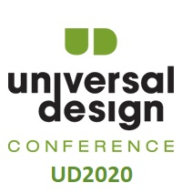 Conference logo. Universal Design Conference 2020