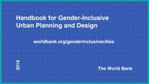 Front cover of the Handbook. Blue background and white text.