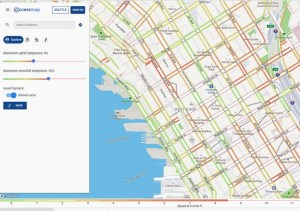 Screenshot of Seattle Access Map.