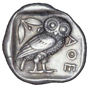 AncientGreekCoinAthenianOwl