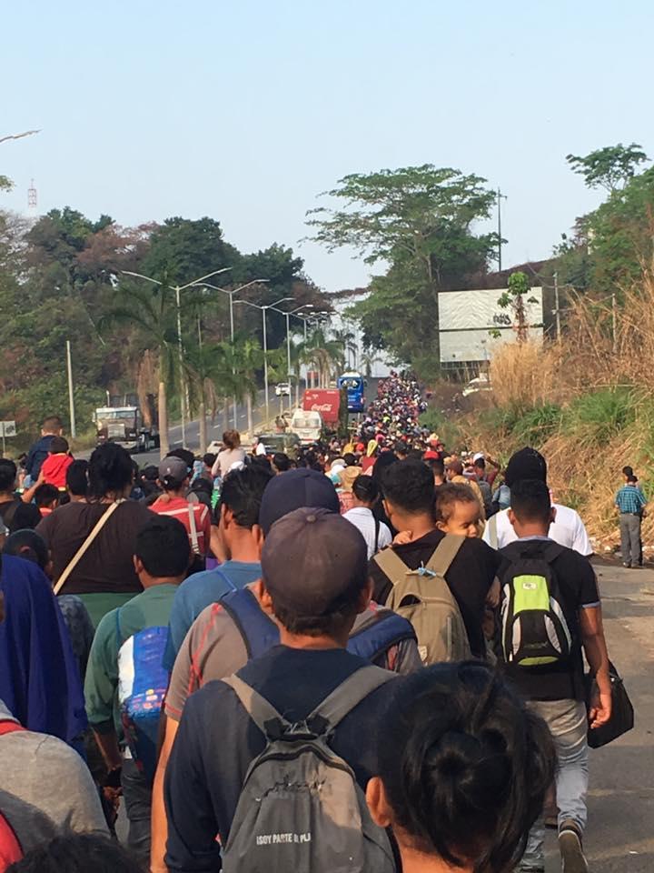 Caravana de Inmigrantes Centro Americanos Enfurece a Donald Trump