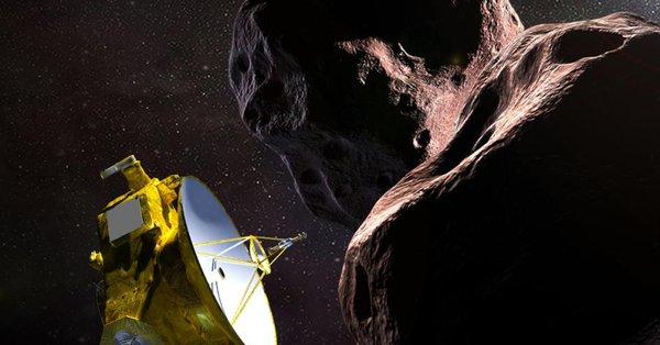 La nave espacial New Horizons explora con éxito Ultima Thule