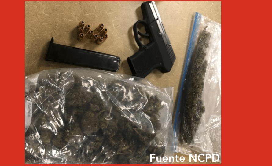 Policía de North Charleston efectúa arresto e incauta  narcóticos