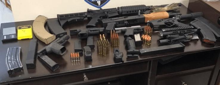 Policía de North Charleston ejecuta arresto e incauta drogas y armas
