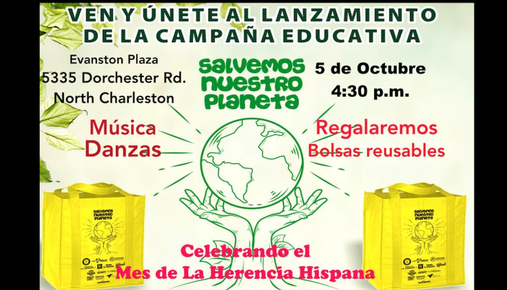"""En el Mes de la Hispanidad, Hispanos lanzarán una campaña educativa, """"Salvemos Nuestro Planeta"""""""