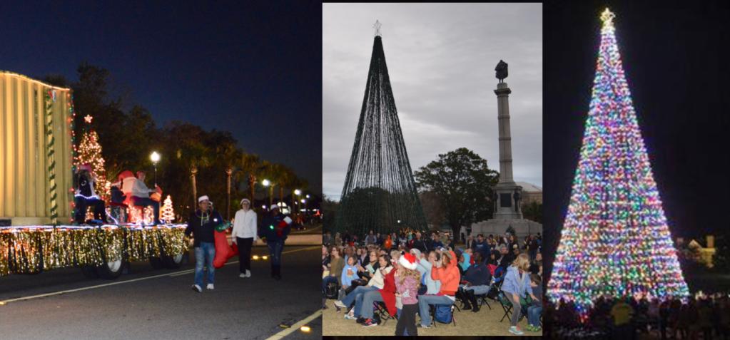 Actividades, eventos y desfiles en el mes Navideño