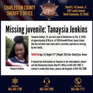 Autoridades piden ayuda del publico para encontrar a una niña desaparecida