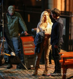 Filming The Mummy