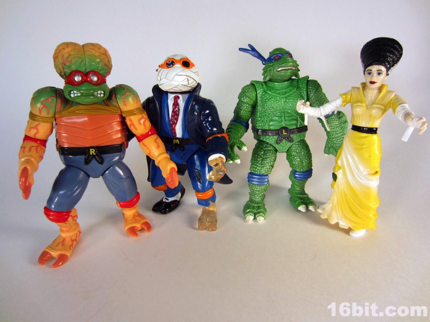 Teenage Mutant Ninja Turtles Mutant Monster Toys : Ninja turtles and the universal monsters another s oddity