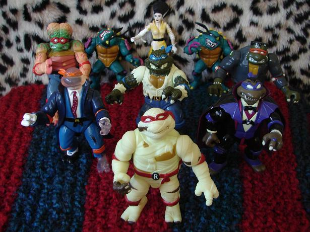 Ninja Turtles and the Universal Monsters; Another 90's Oddity!