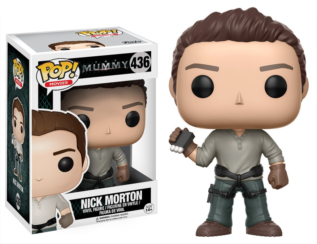"Funko Cancels POP! Vinyl of Nick Morton from ""The Mummy."" :-("