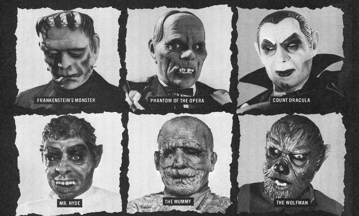 Merchandising Monsters: A Brief Look At Universal Monsters Memorabilia.