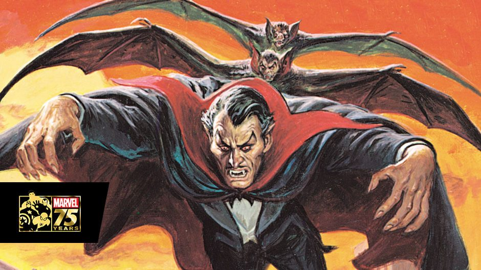 Dracula Lives Again! Marvel Releasing Classic Horror Comics this Halloween!