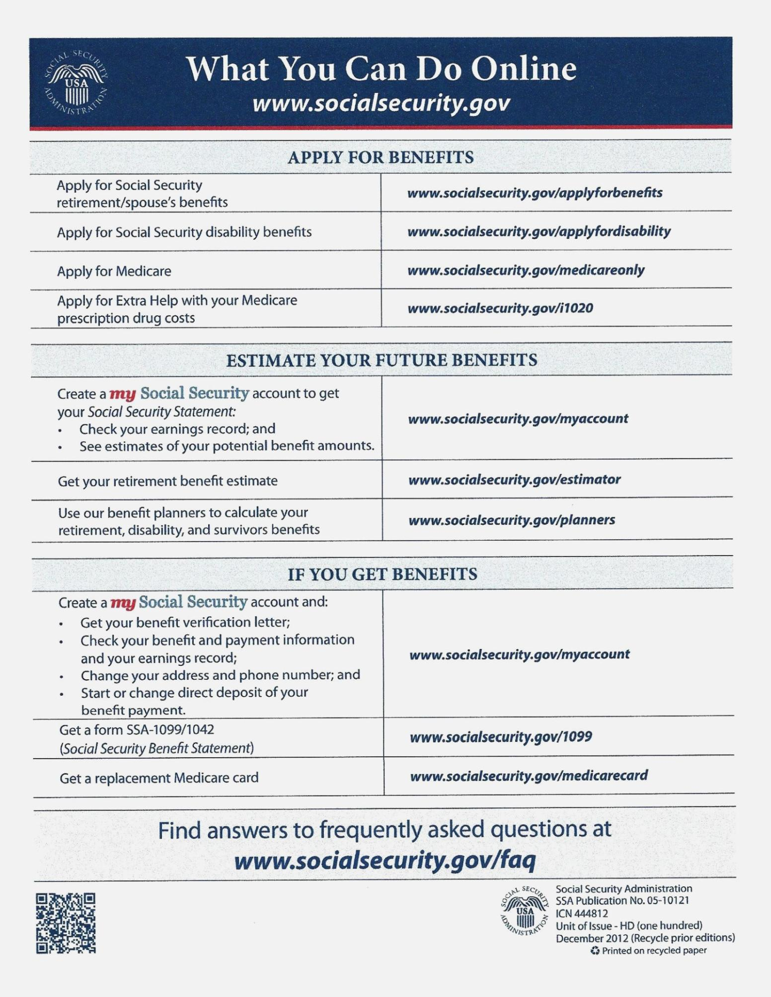 Social Security Disability Application Form To Print