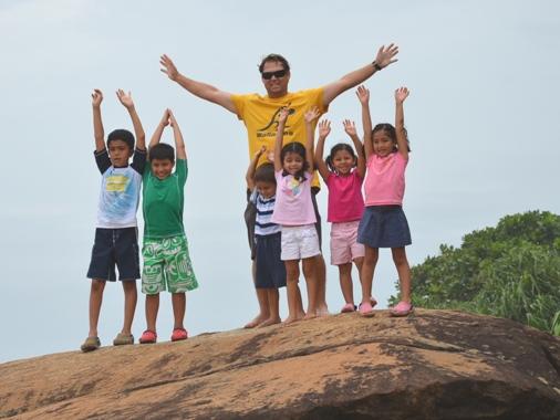 Travelling with kids Sri Lanka