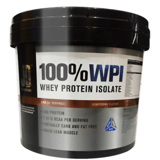 100% WHEY PROTEIN ISOLATE
