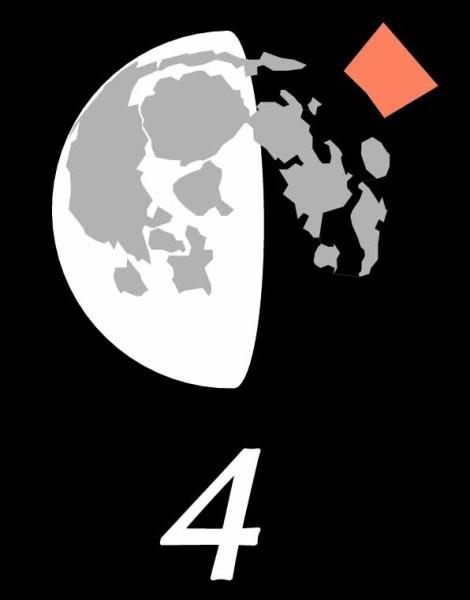 Moon libration 2015 October 4
