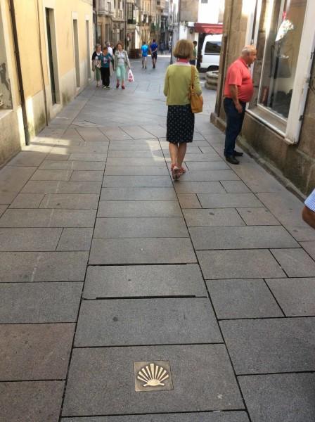 Pontevedra, Camino de Santiago, cockleshell