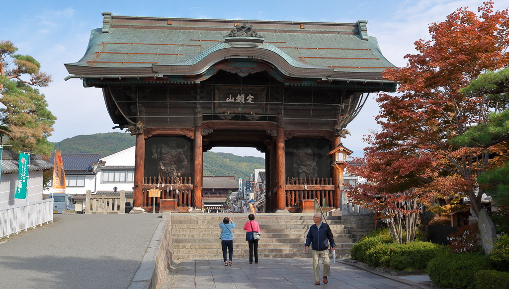 Zenkoji Buddhist temple - Nagano