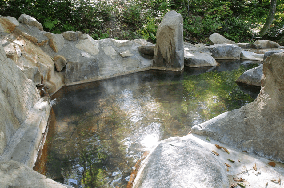 Onsen in the forest - Otari Shinrin-yoku