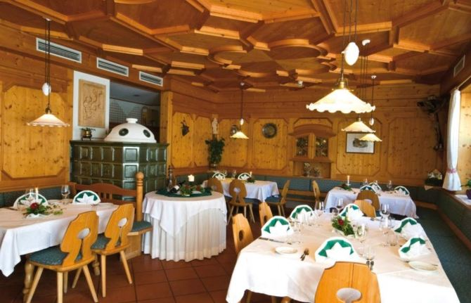 Tyrol-style restaurant