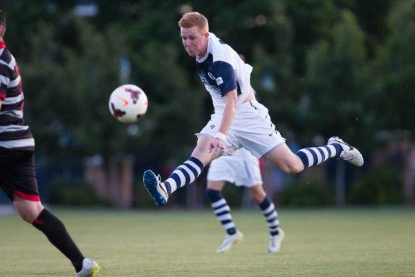 Men's soccer reach playoffs; lose in first round - The ...