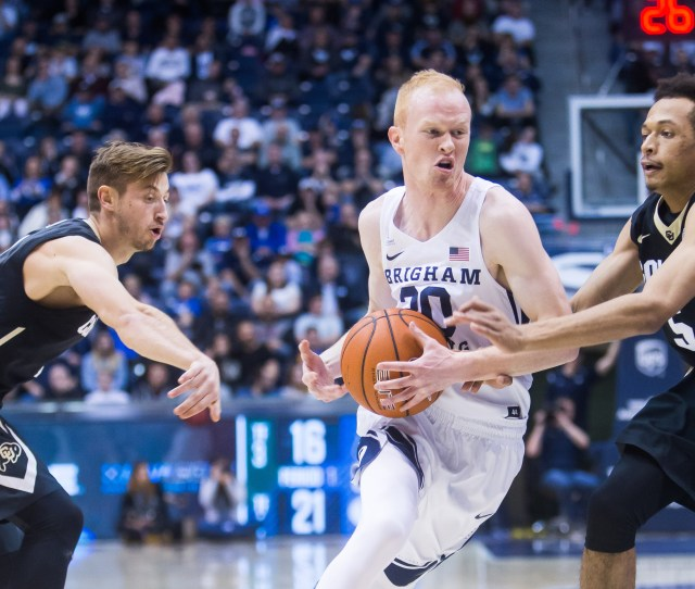 Byu Mens Basketball Turning Inside Out The Daily Universe