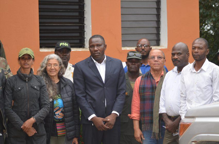 Haïti / Environnnement: Déploiement officiel des Agents du Brigade de Surveillance des Aires Protégées(BSAP) dans la réserve écologique de Wyrn Farm.