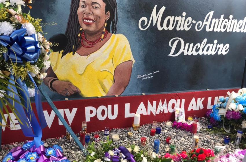 Les funérailles de la militante politique Marie Antoinette Duclaire ont été célébrées ce samedi.