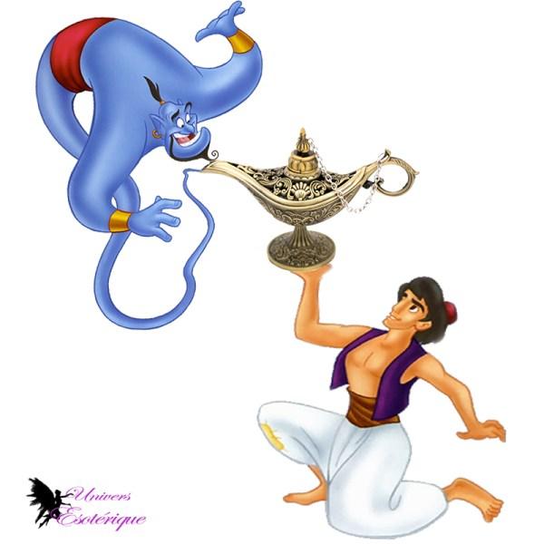 Brûleur d'encens Lampe de génie Aladdin - Boutique Univers ésotérique
