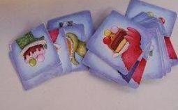 Tarta de monstruos-cartas