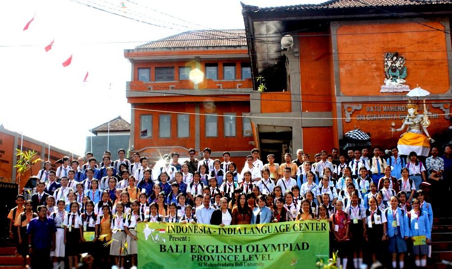 UNIVERSITAS MAHENDRADATTA KEMBALI HADIRKAN OLIMPIADE BAHASA INGGRIS KE – VI TAHUN 2018