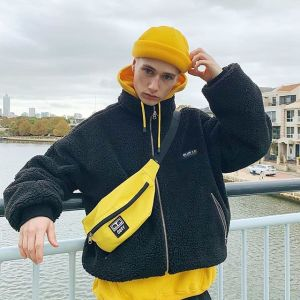 Hoodie black coat laetus streetwear