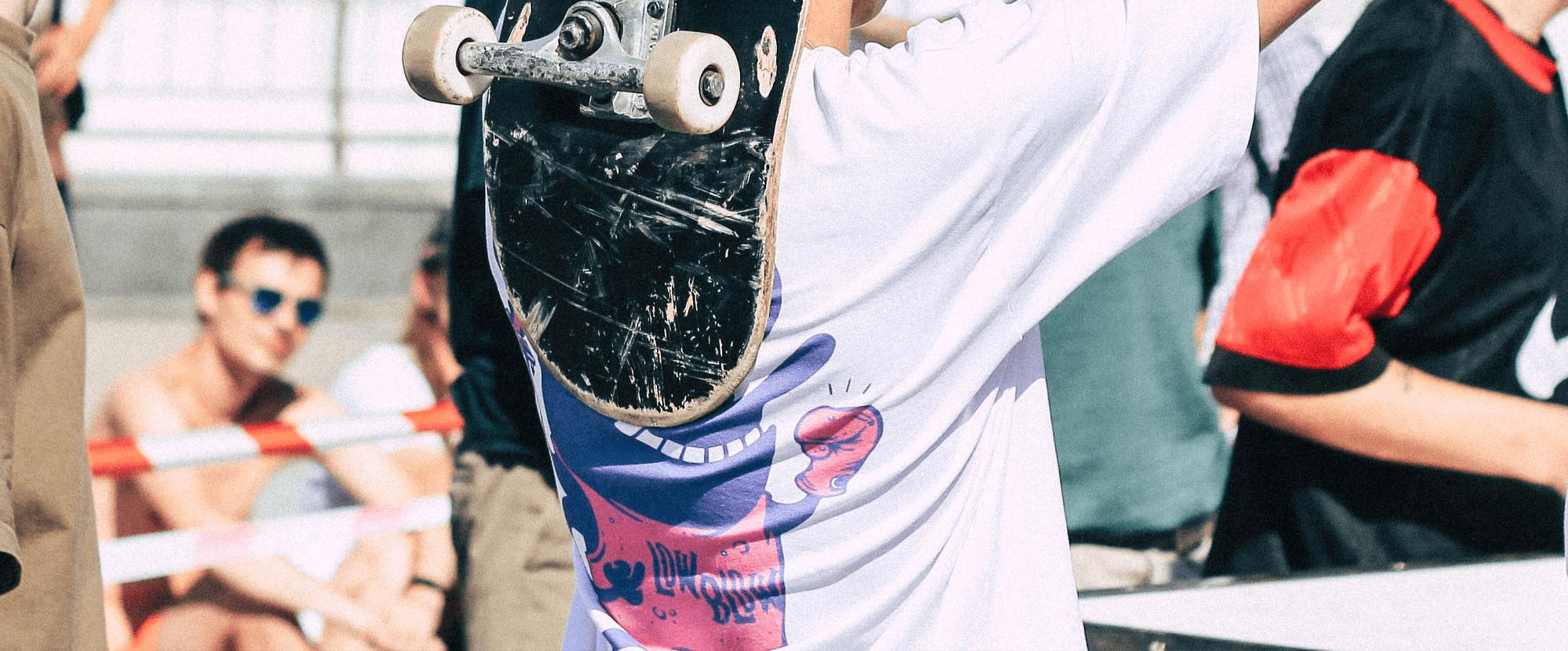 t-shirts personnalisés skate LAETUS Streetwear