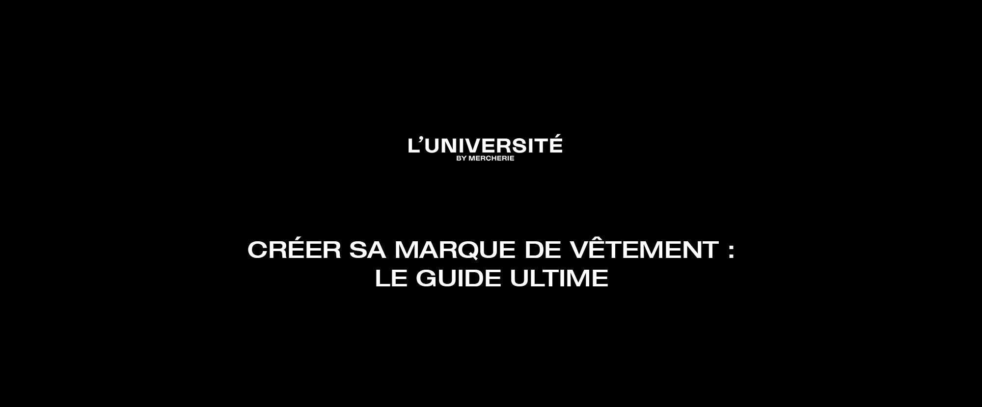 You are currently viewing Créer sa marque de vêtement : le guide ultime