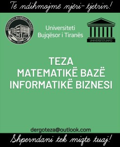 Teza matematike UBT