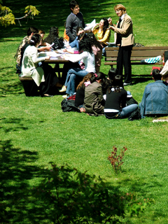 Students (photo by gokoroko)