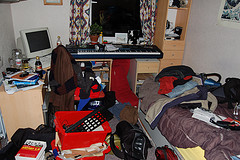 Tidying Room - photo by Andy HMcDowall