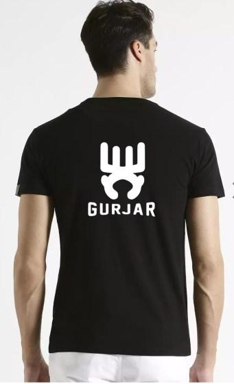 Universi-Tee Gurjar Black T-shirt
