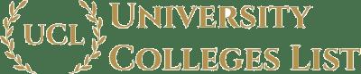 University Colleges List (UCL)