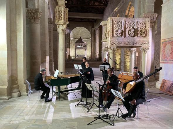 Concert at the Abbey of San Clemente, Casauria