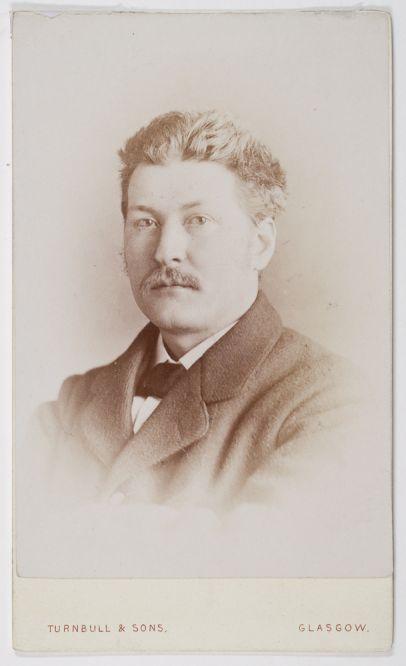 Luxograph photograph of Alexander Finlayson (Dougan Add. 141 Item 31)