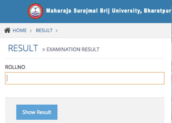 Brij University BA 1st Year Exam Result 2020