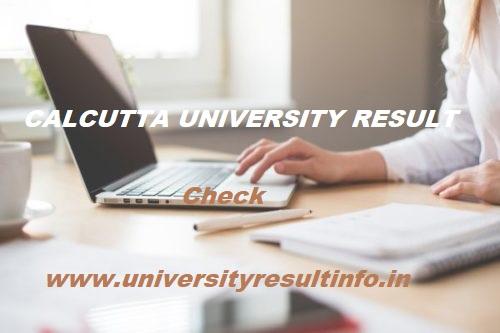 Calcutta University BA Result 2020