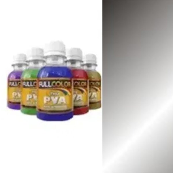 TINTA PVA METALICA FULLCOLOR 100ML-PRETO