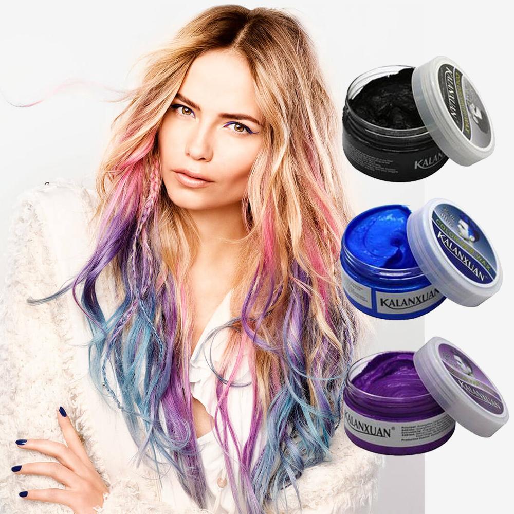 Cera Para Pintar Cabello Kalanxuan Hair Wax Varios Colores
